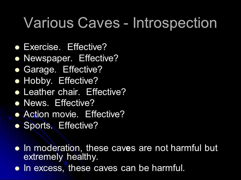 Various Caves - Introspection