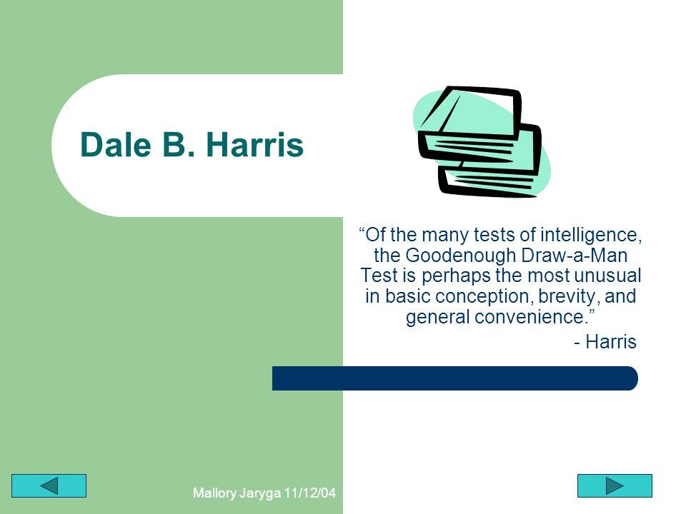 Dale B. Harris