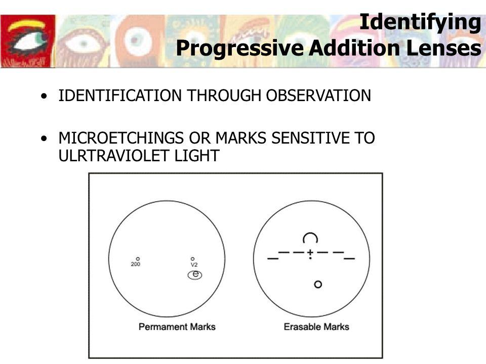 Identifying Progressive Addition Lenses