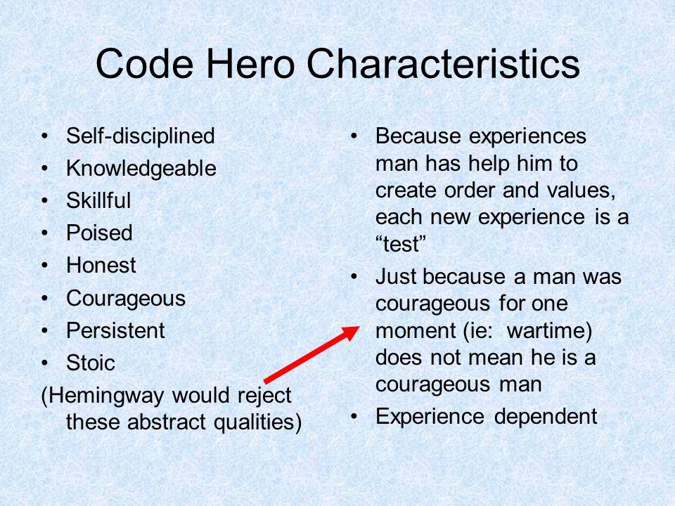 Code Hero Characteristics