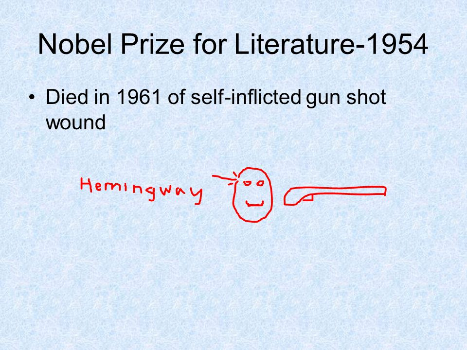 Nobel Prize for Literature-1954