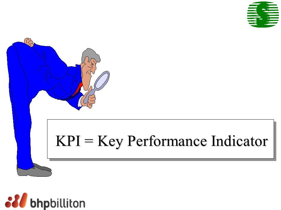 KPI = Key Performance Indicator