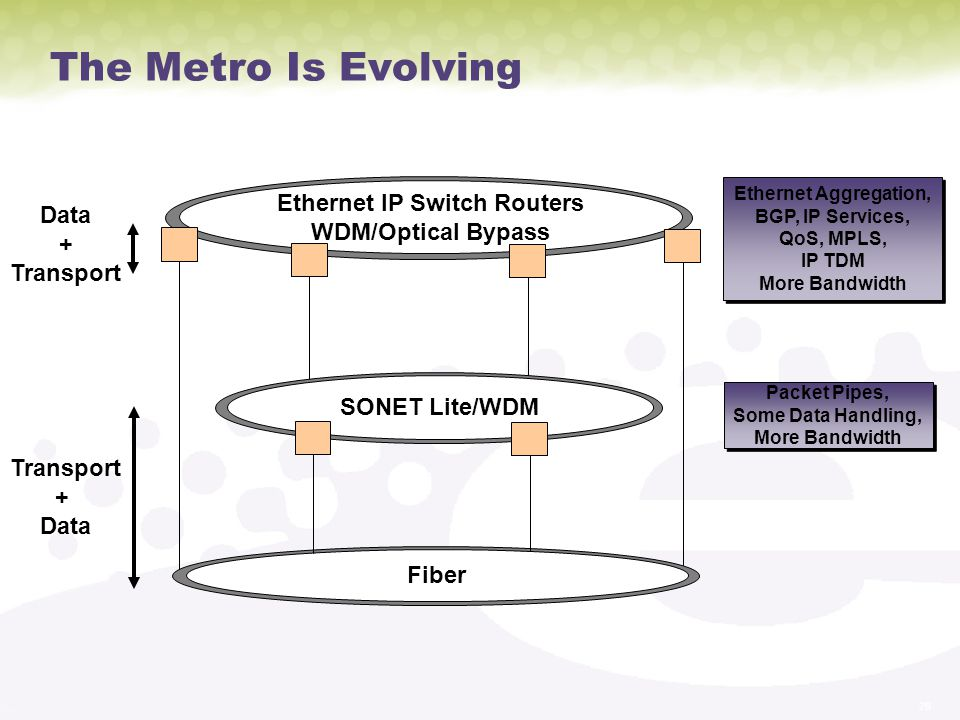 Ethernet IP Switch Routers