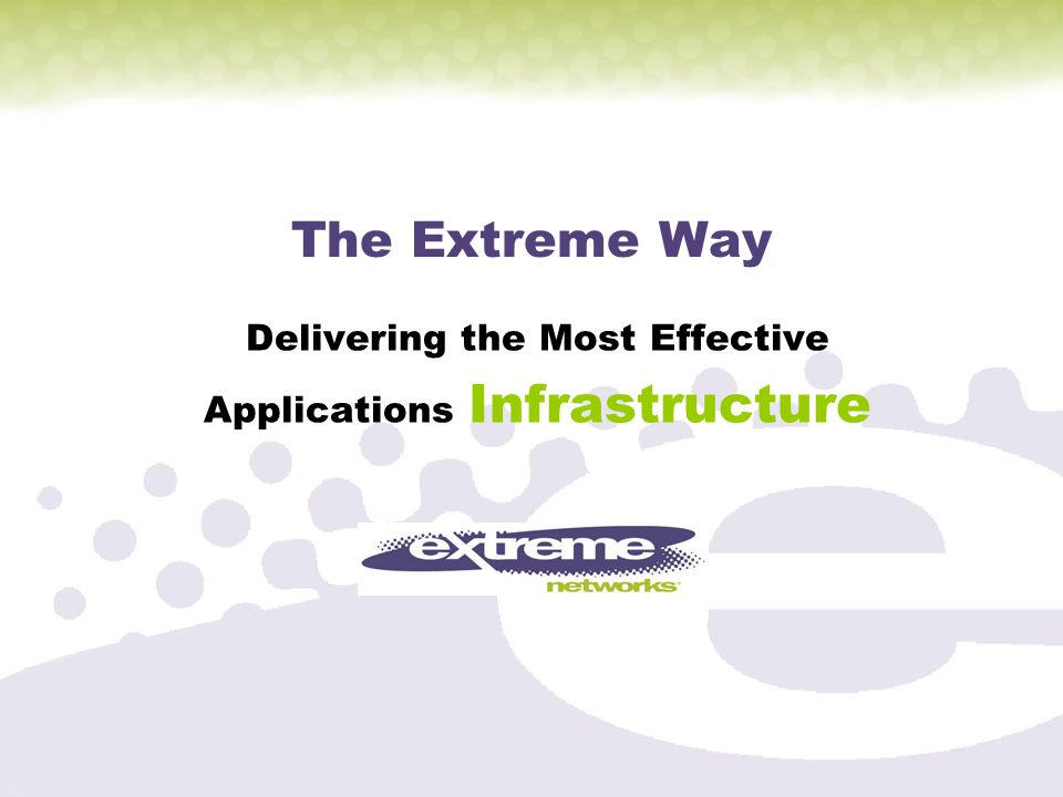 Delivering the Most Effective Applications Infrastructure