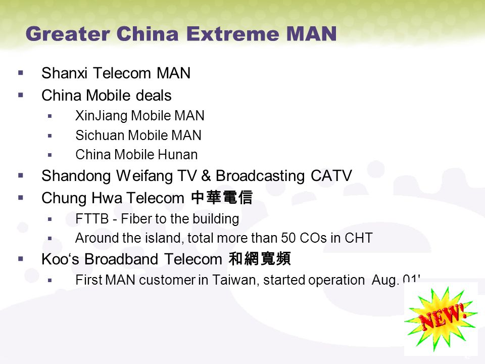Greater China Extreme MAN