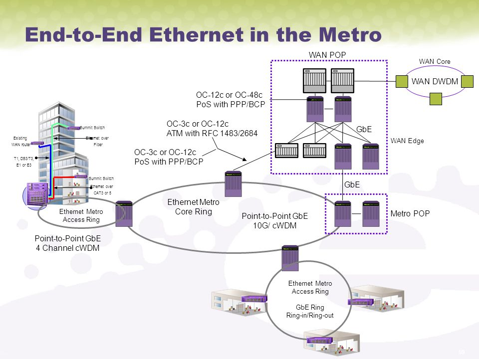 End-to-End Ethernet in the Metro