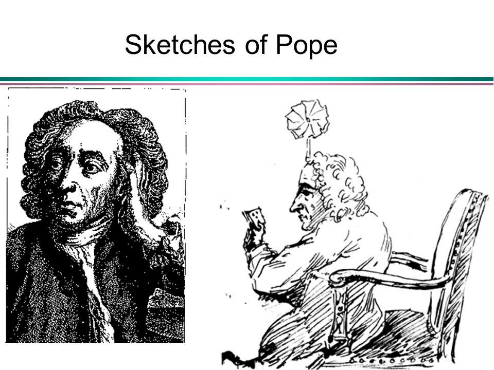 Sketches of Pope
