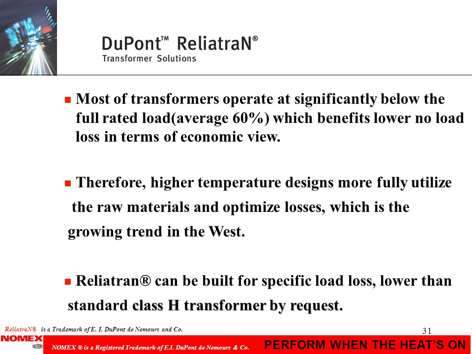 Therefore, higher temperature designs more fully utilize