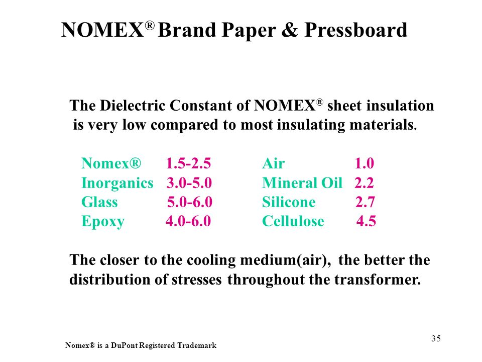 NOMEX® Brand Paper & Pressboard