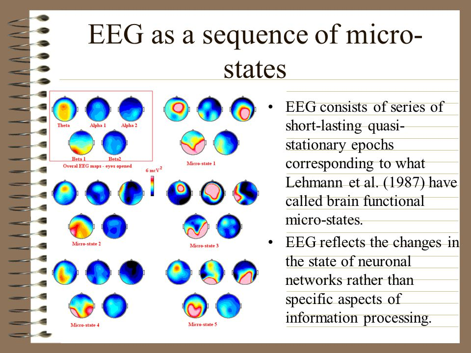 EEG as a sequence of micro-states
