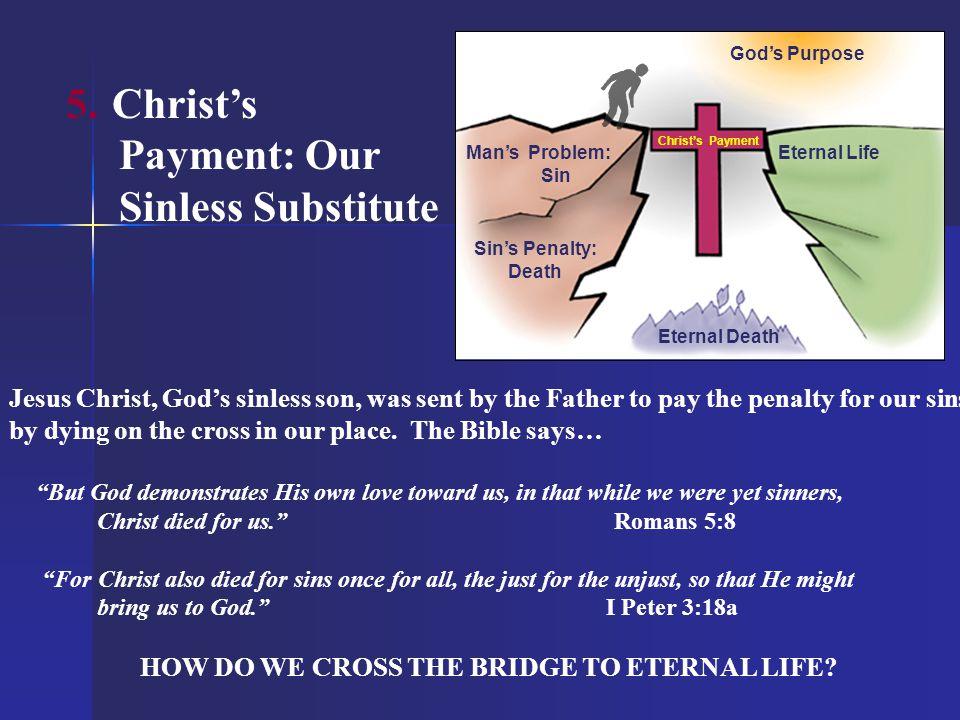 HOW DO WE CROSS THE BRIDGE TO ETERNAL LIFE