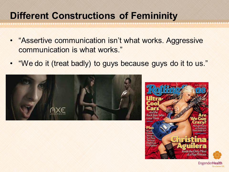 Different Constructions of Femininity