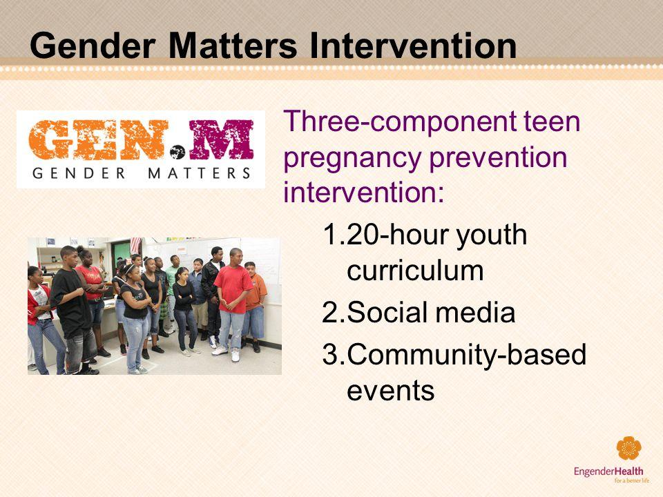Gender Matters Intervention