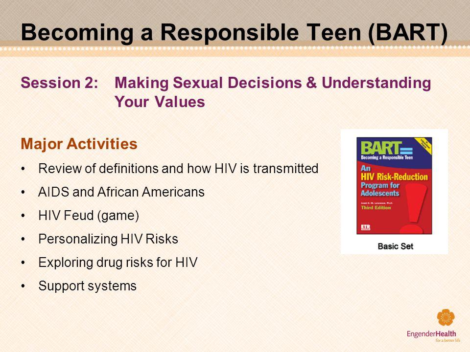 Becoming a Responsible Teen (BART)