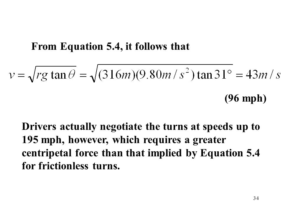 From Equation 5.4, it follows that