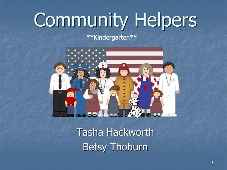 Tasha Hackworth Betsy Thoburn