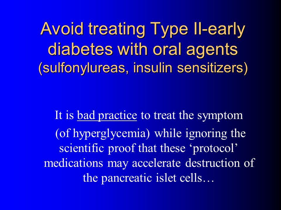 It is bad practice to treat the symptom