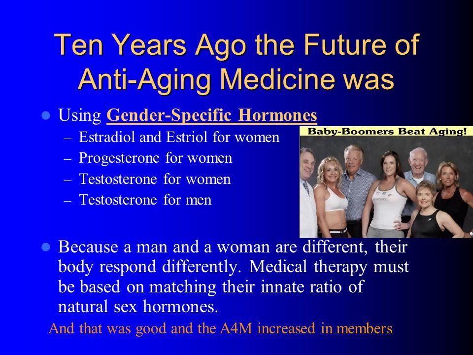 Ten Years Ago the Future of Anti-Aging Medicine was