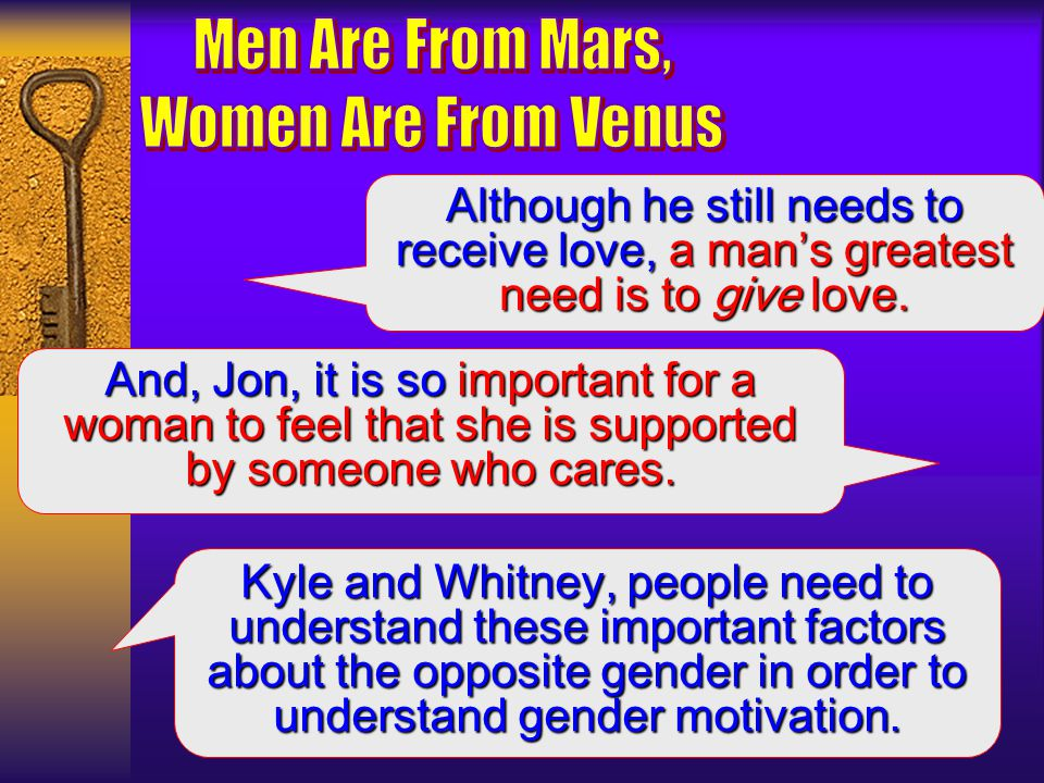 Men are from mars women are from venus online