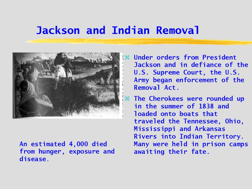 Jackson and Indian Removal