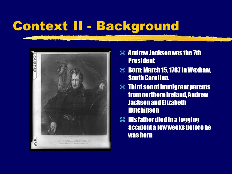 Context II - Background