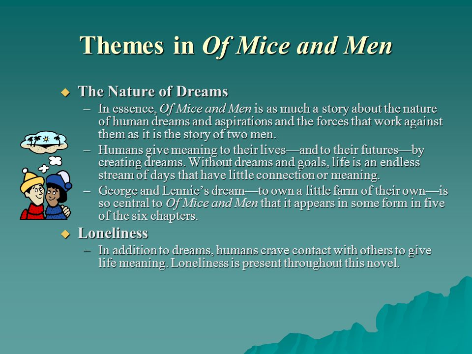 Themes in Of Mice and Men