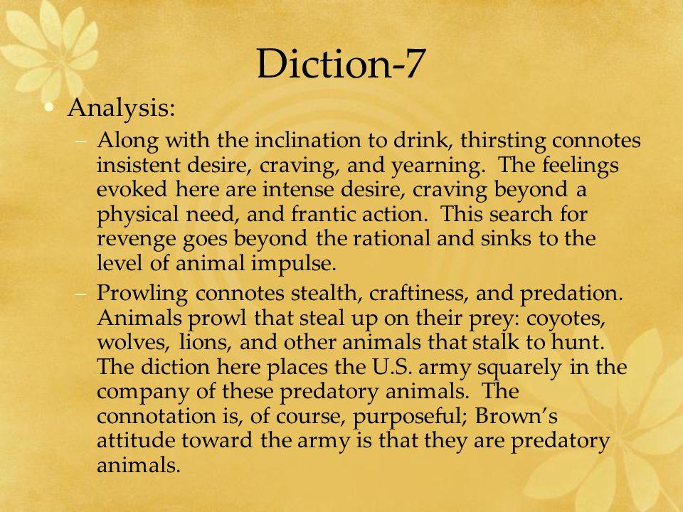 Diction-7 Analysis: