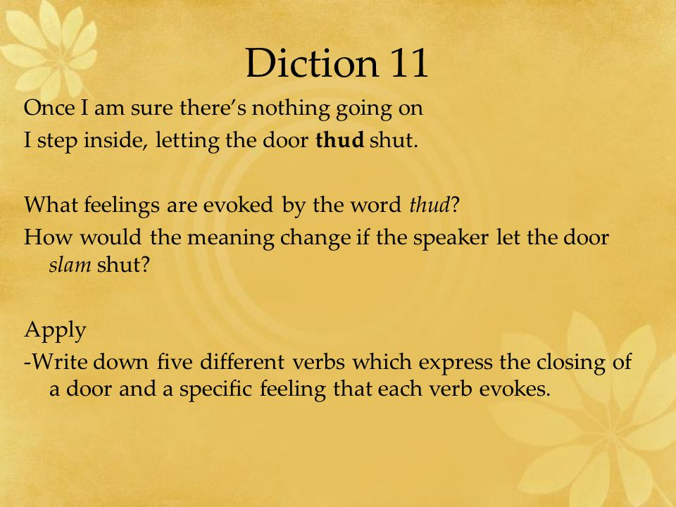 Diction 11