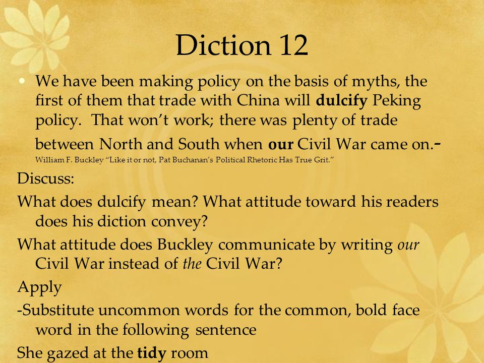 Diction 12