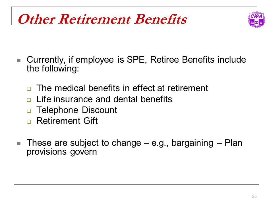 Other Retirement Benefits