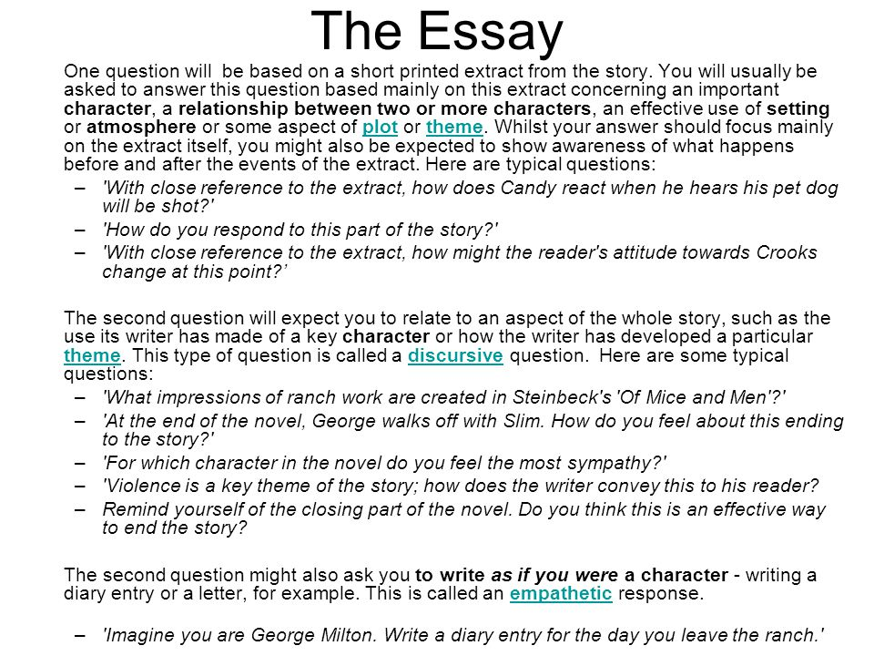 Write about the loneliness and violence in the lives of the characters in of mice and men essay