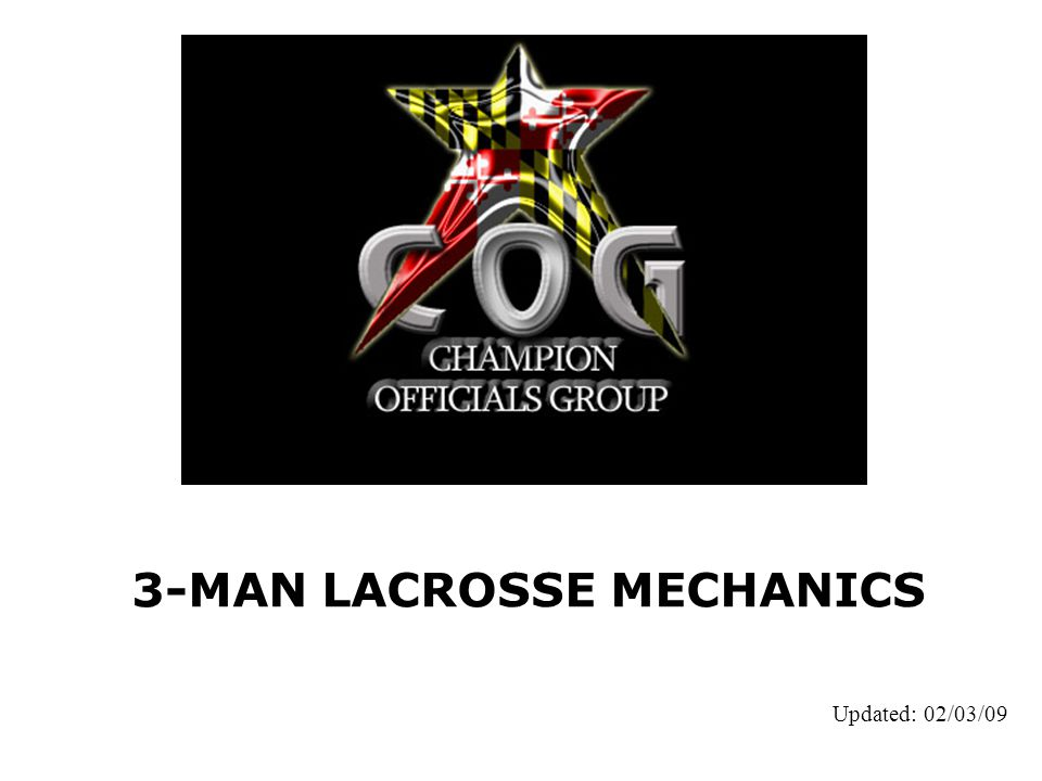 3-MAN LACROSSE MECHANICS