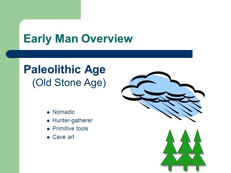 Paleolithic Age (Old Stone Age)