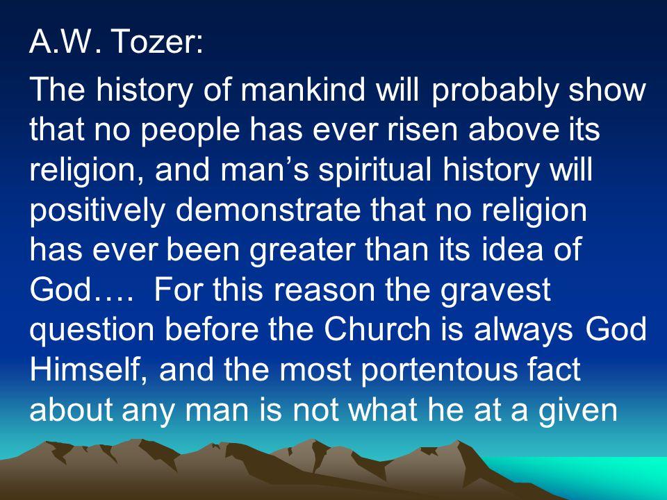 A.W. Tozer: