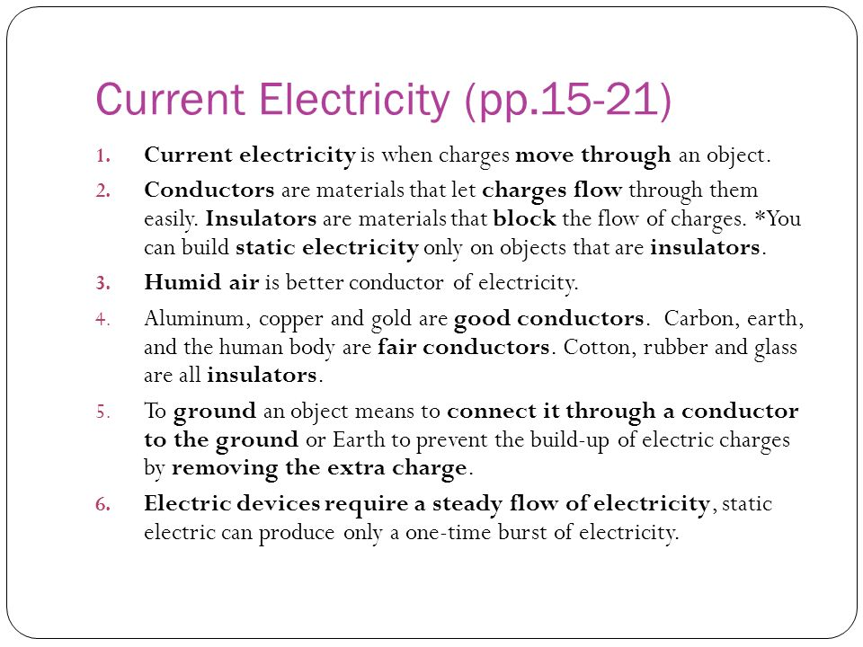 Current Electricity (pp.15-21)