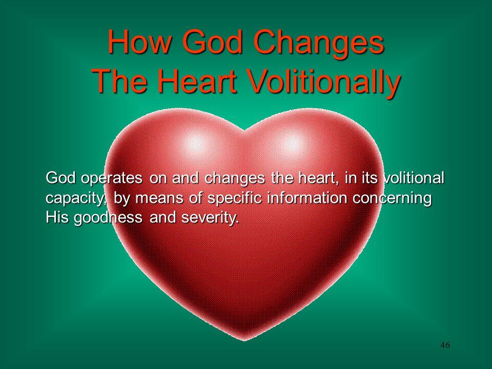 The Heart Volitionally