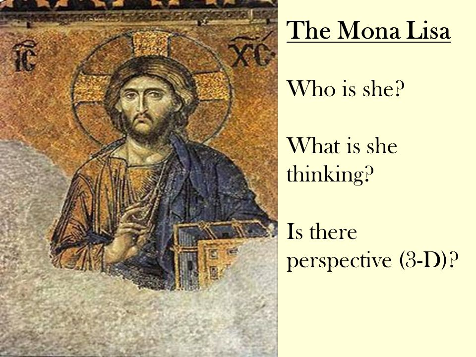 The Mona Lisa Who is she What is she thinking