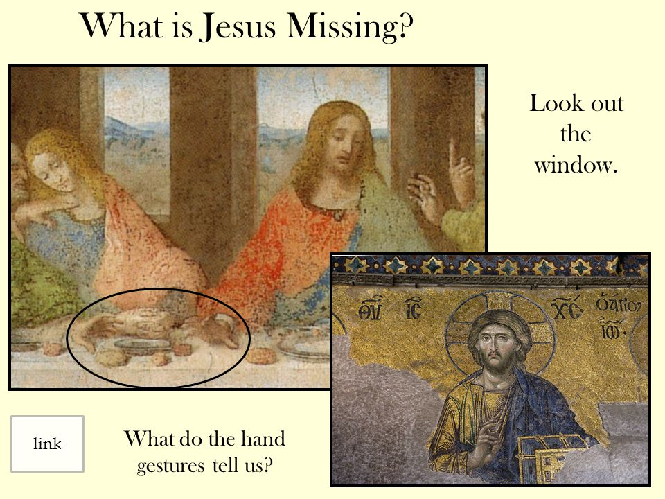 What do the hand gestures tell us