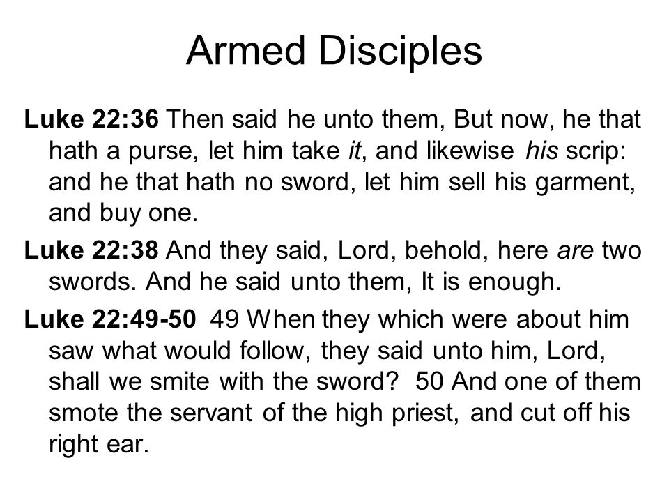 Armed Disciples