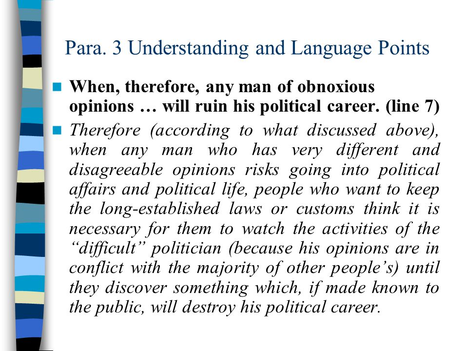 Para. 3 Understanding and Language Points