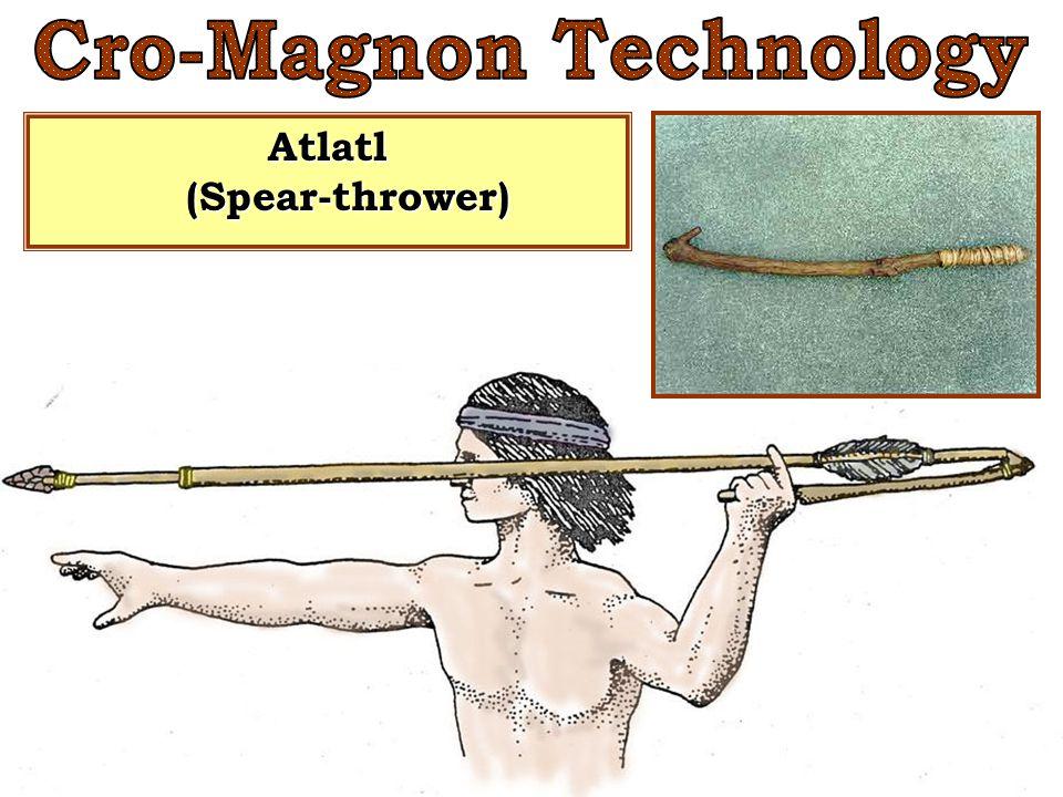 Cro-Magnon Technology Atlatl (Spear-thrower)