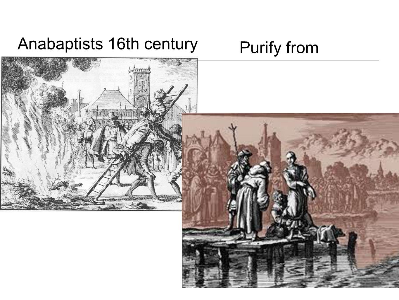 Anabaptists 16th century