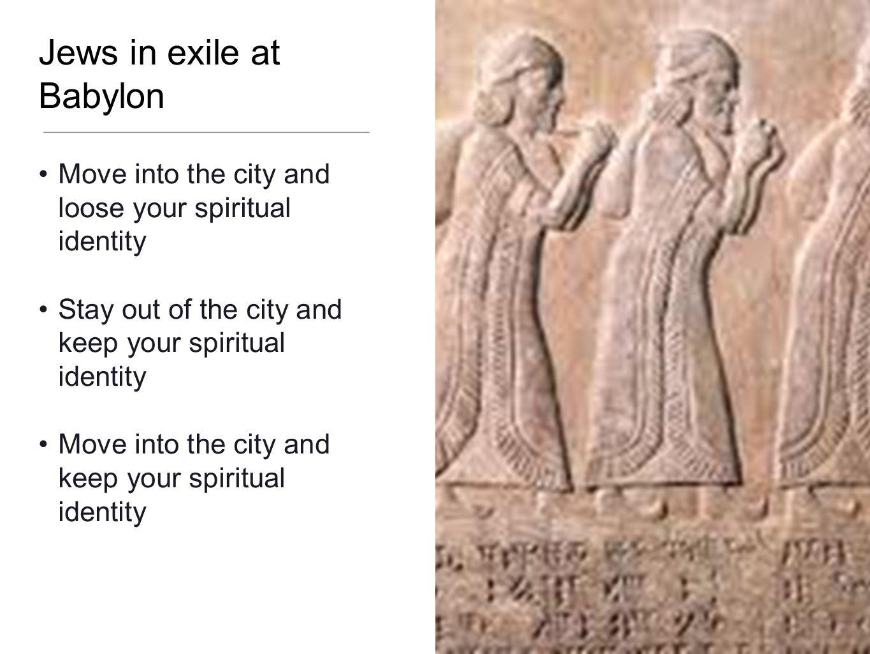 Jews in exile at Babylon