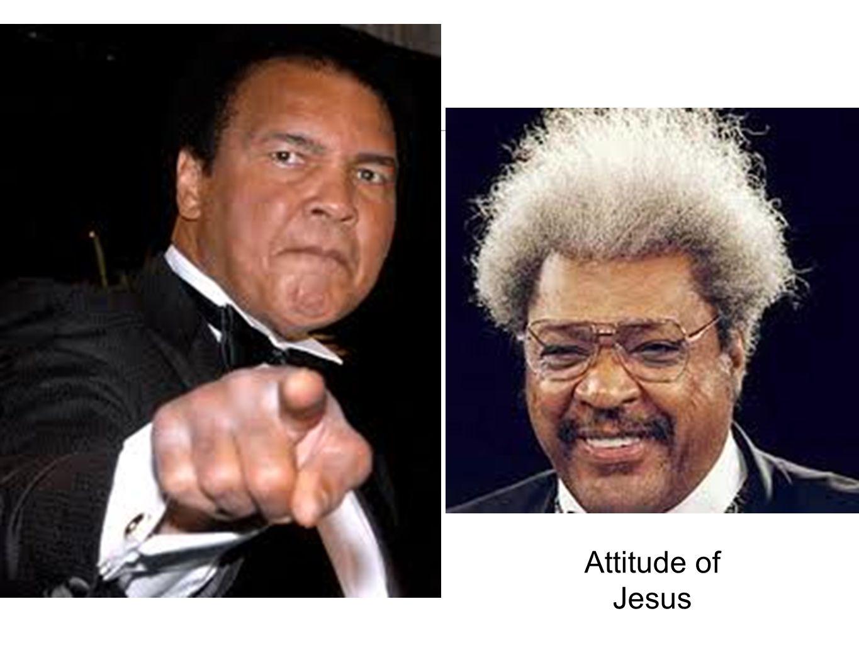 Attitude of Jesus Ali....I am the greatest
