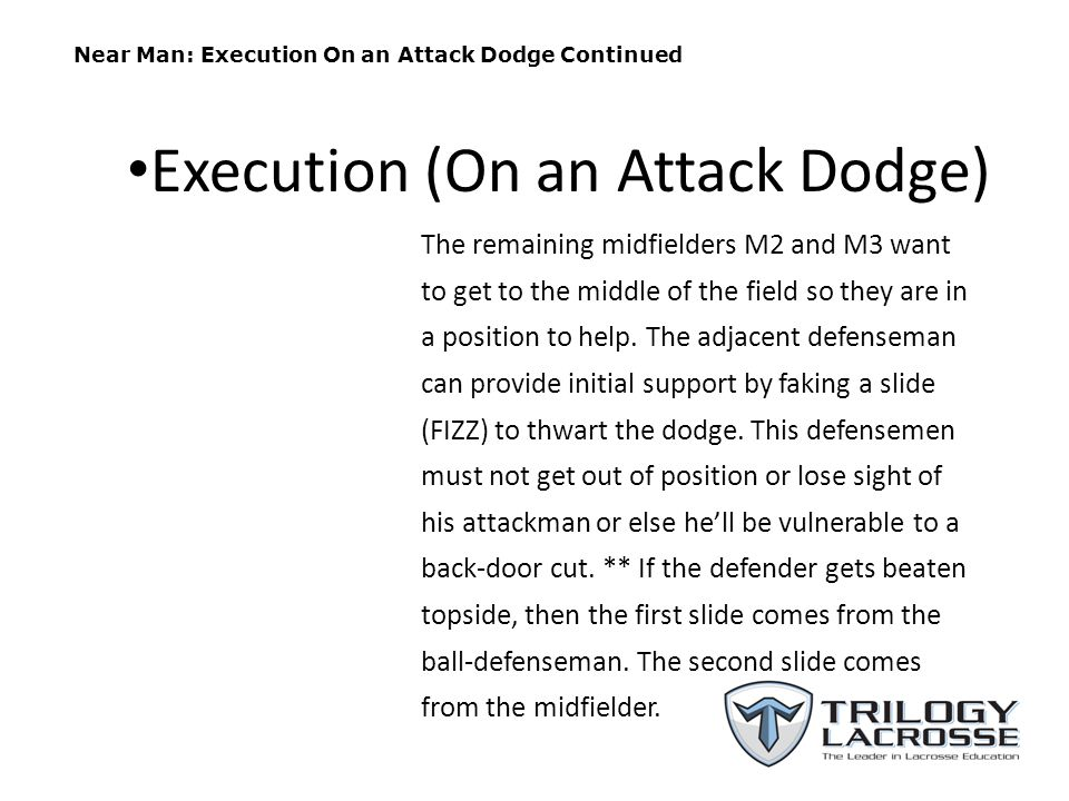 Execution (On an Attack Dodge)