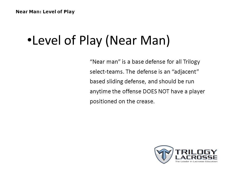 Level of Play (Near Man)
