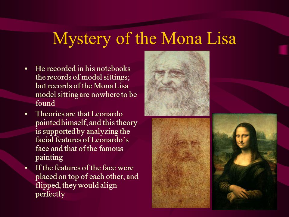 Mystery of the Mona Lisa