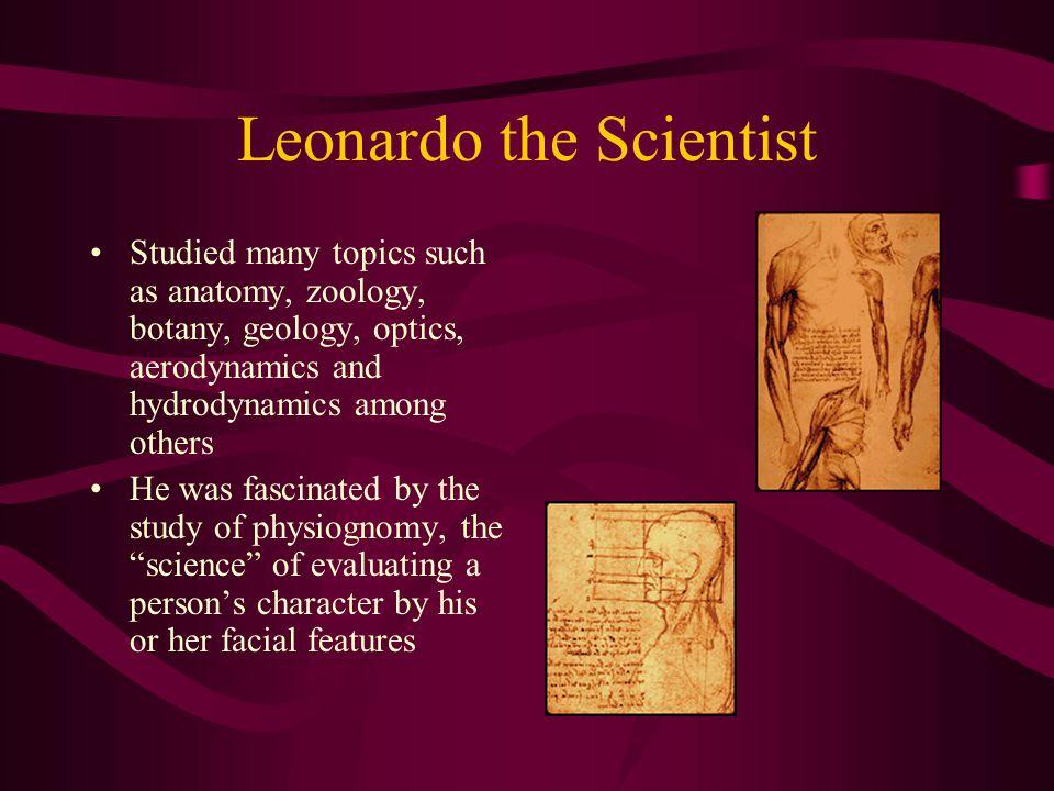 Leonardo the Scientist