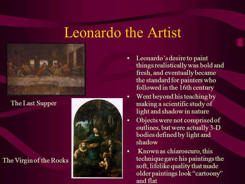 Leonardo the Artist