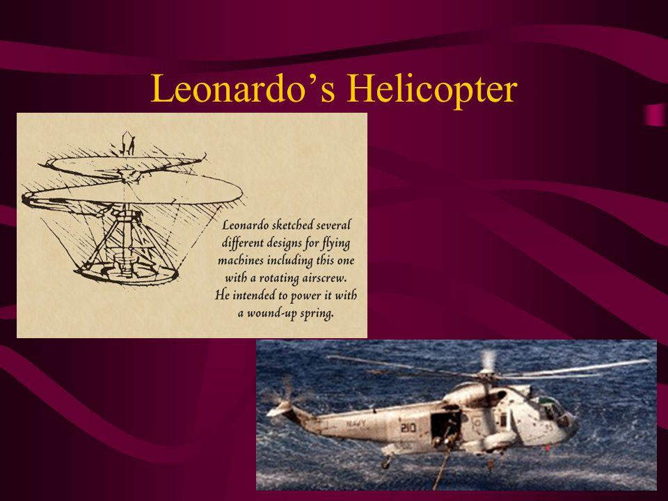 Leonardo's Helicopter